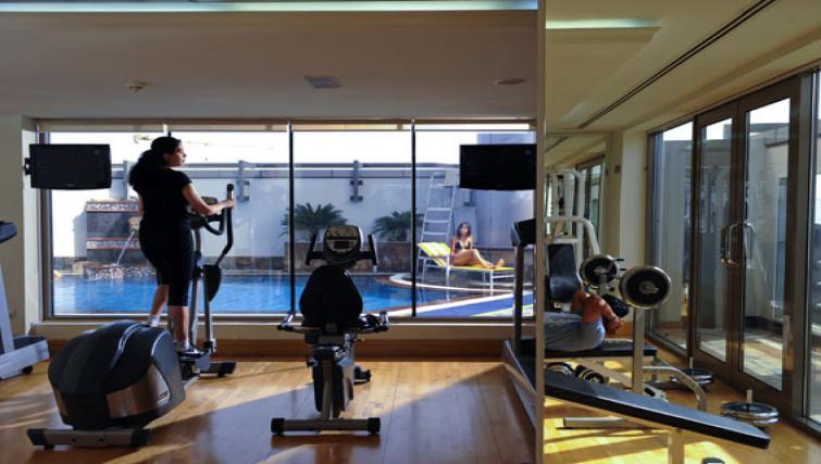 Gym at Vision Hotel Apartments