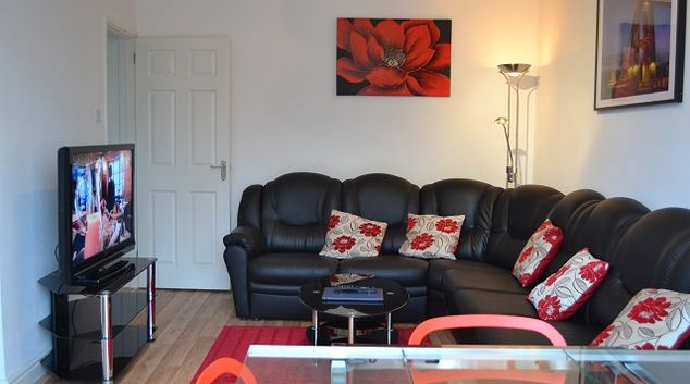 Living room at Filton 10th Avenue House