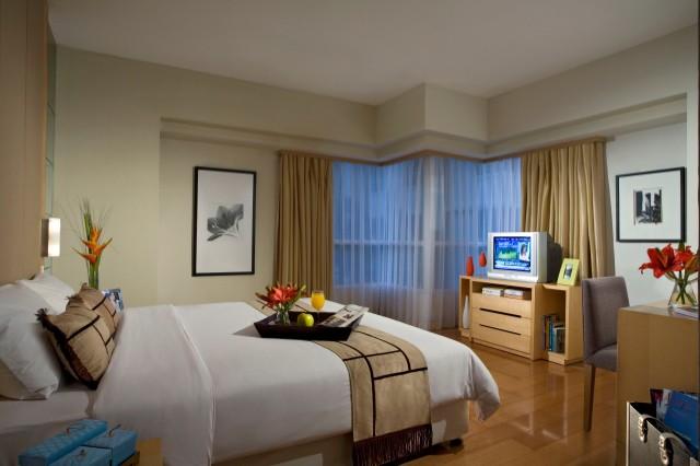 Bedroom at Somerset Berlian Apartments