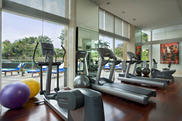 Gym at Somerset Berlian Apartments