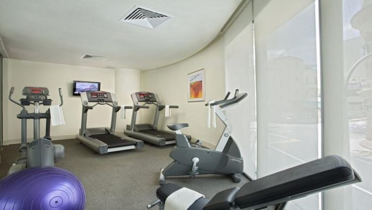 Equipped gym in Citadines Mount Sophia Apartments, Singapore