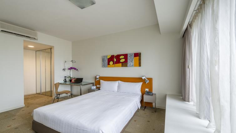 Bedroom at Citadines Mount Sophia Apartments, Singapore