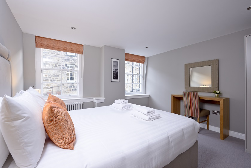 Bedroom at New Town Serviced Apartments
