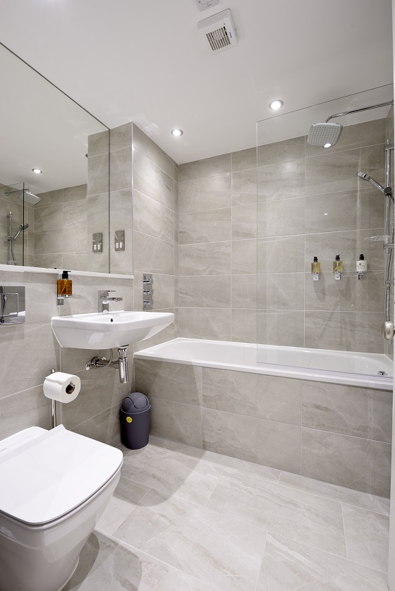 Bathroom at New Town Serviced Apartments