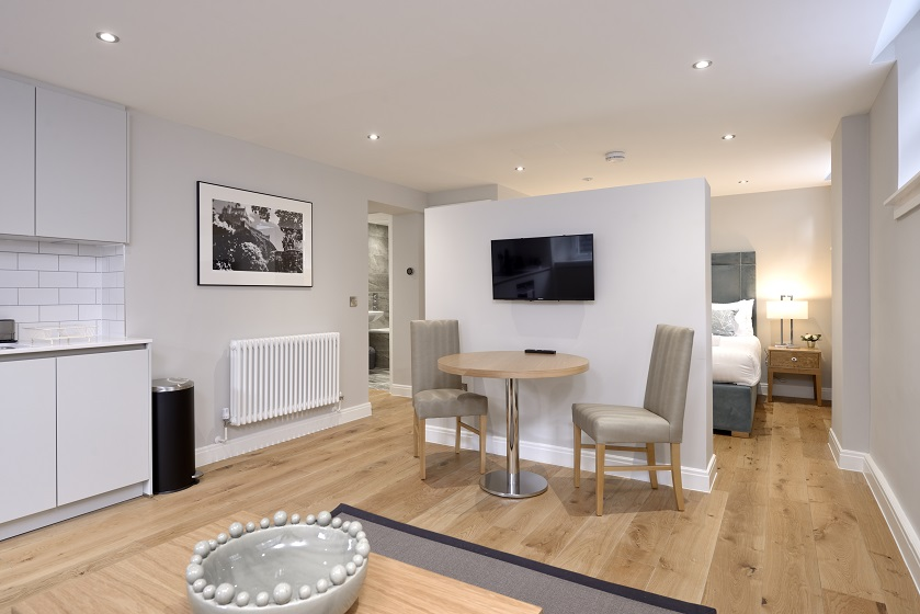 TV at New Town Serviced Apartments