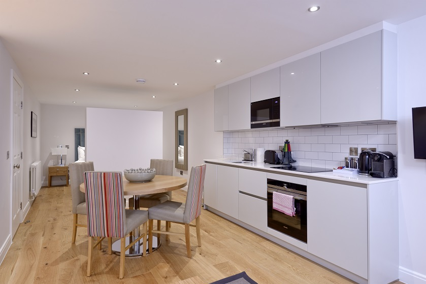 Oven at New Town Serviced Apartments