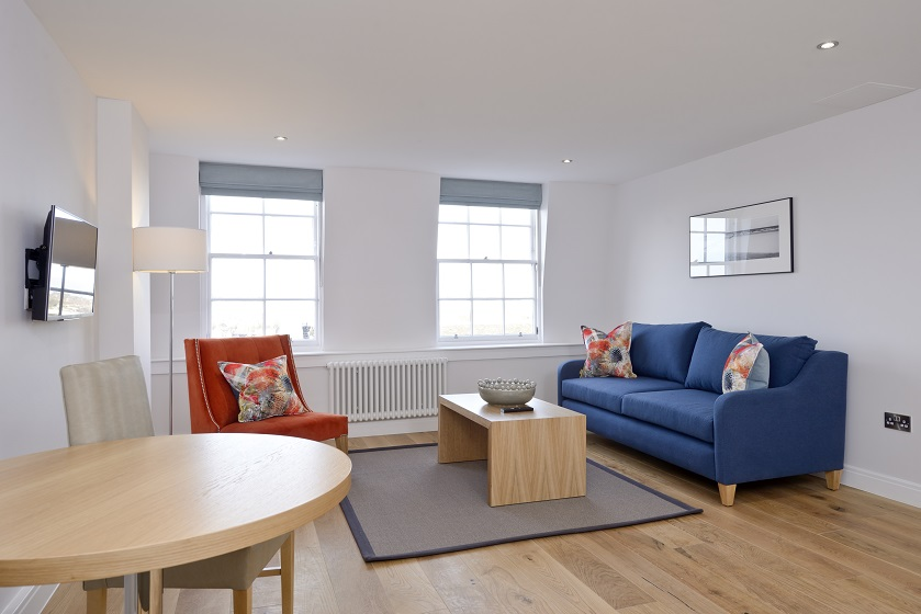 Sofa at New Town Serviced Apartments