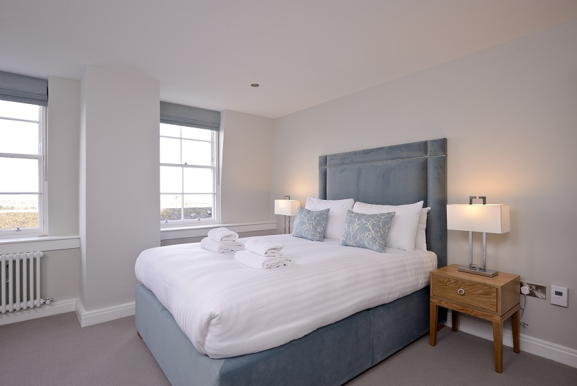 Charming bedroom at New Town Serviced Apartments