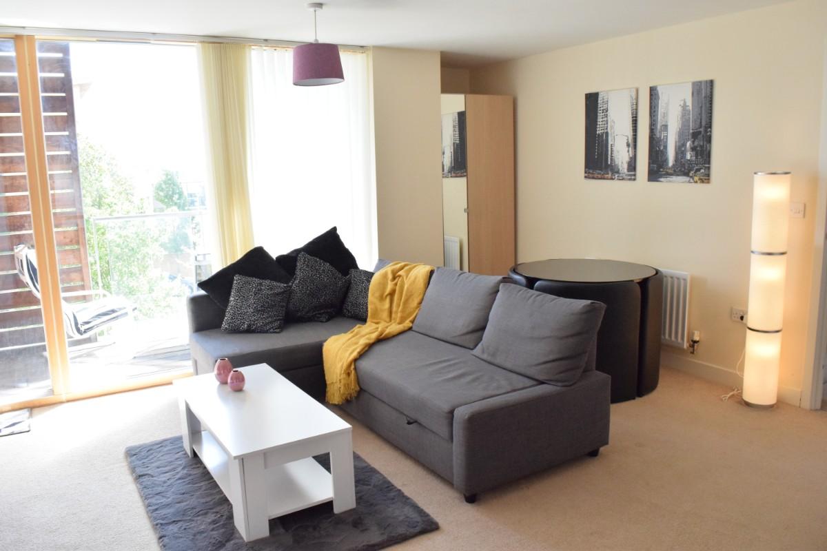 Sofa at Dazzon Apartments