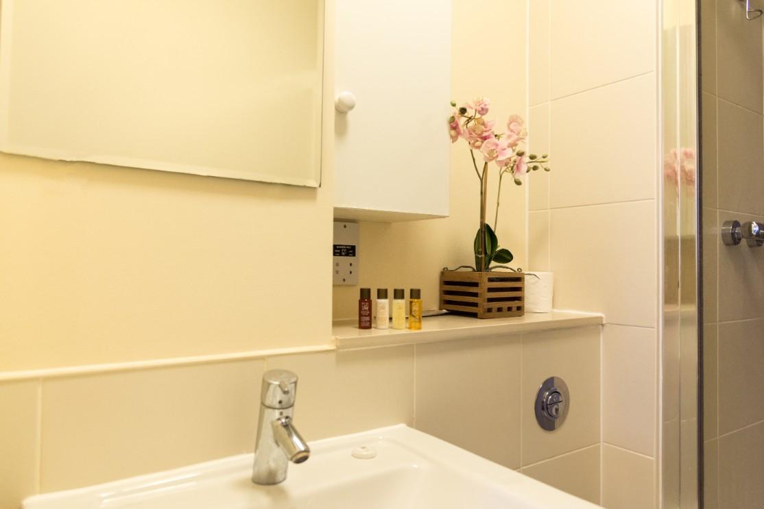 Bathroom at Dazzon Apartments