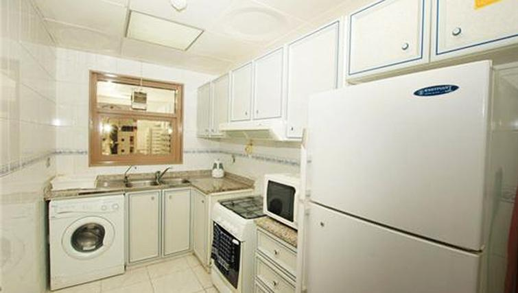 Kitchen at Ivory Apartments