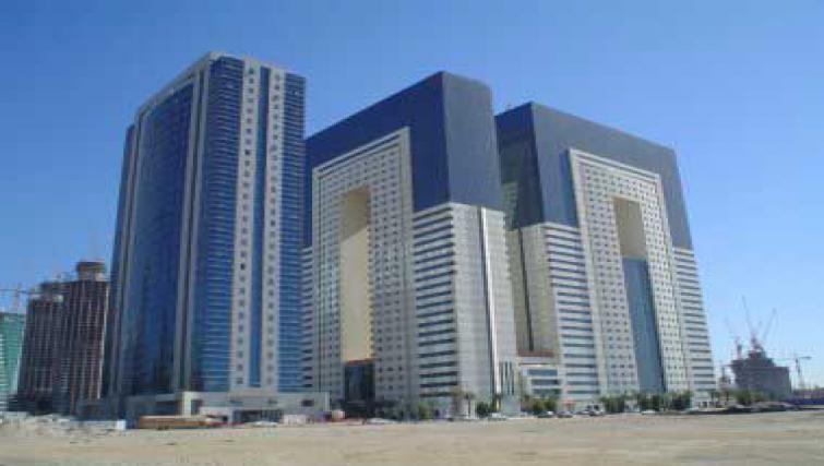 Grand exterior of Al Dafna Apartments