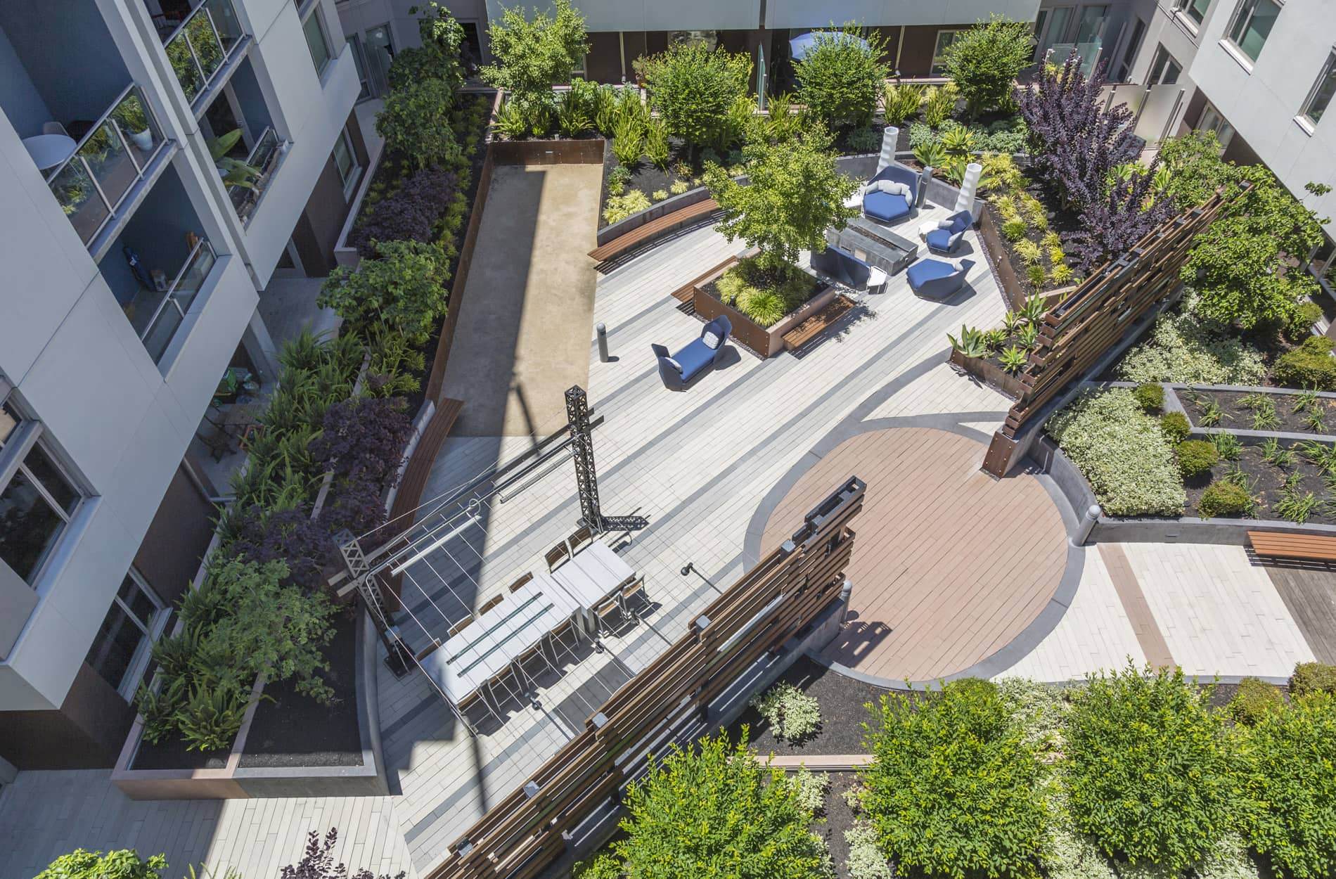 Courtyard at Channel Mission Bay Serviced Apartments