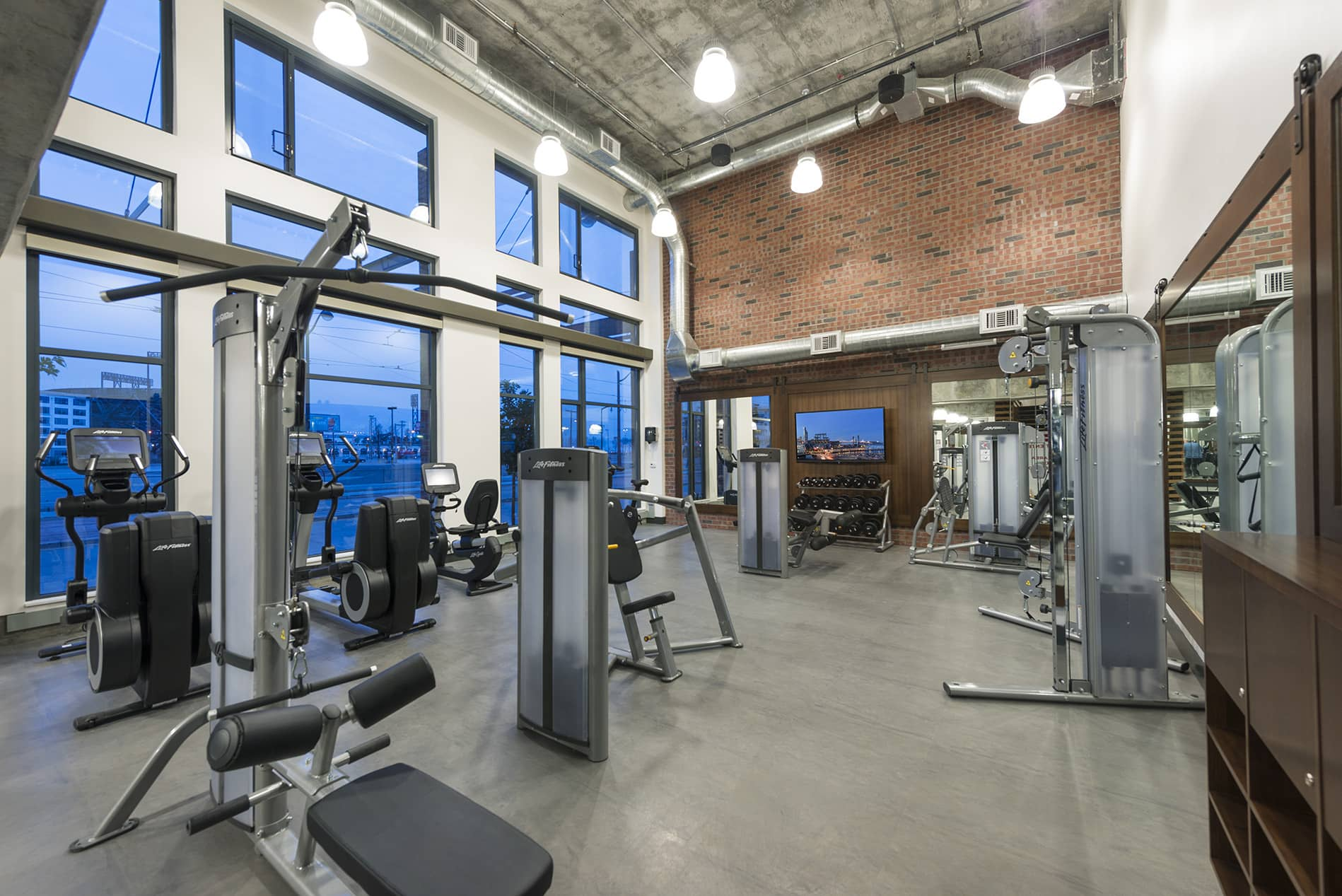 Fitness Centre at Channel Mission Bay Serviced Apartments