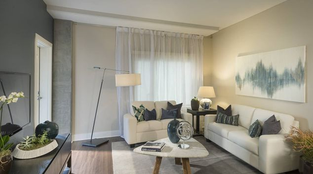 Living Room at Channel Mission Bay Serviced Apartments