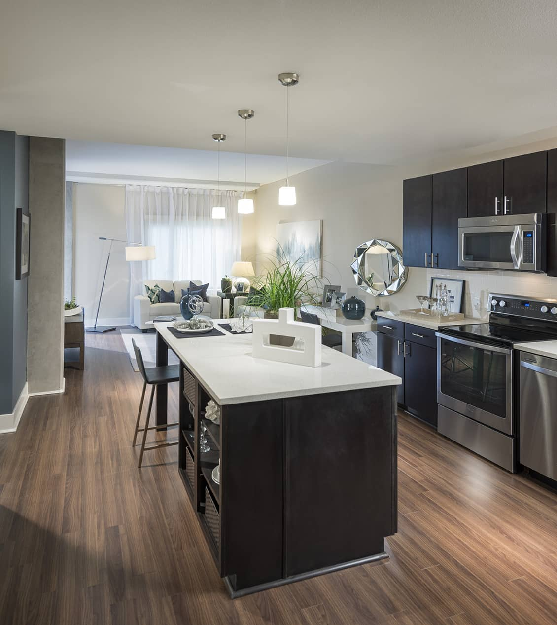 Kitchen at Channel Mission Bay Serviced Apartments