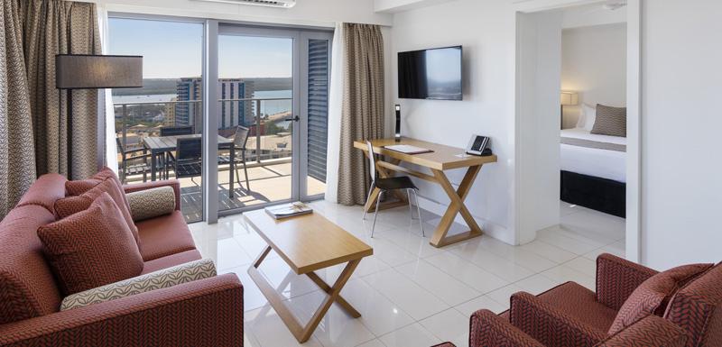 Living at Oaks Darwin Elan Hotel Apartments