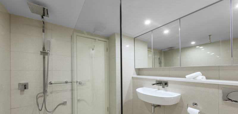 Bathroom at Oaks Darwin Elan Hotel Apartments