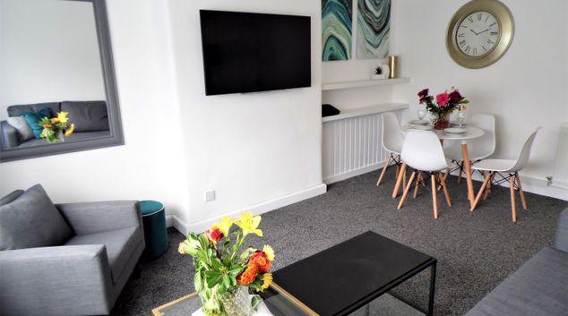 Living room at Craigmuir House