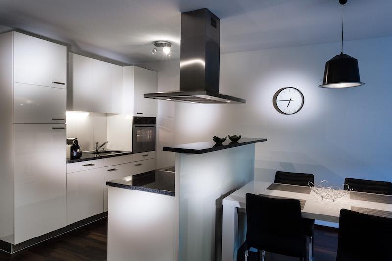 Kitchen at Paderewski 26 Apartments