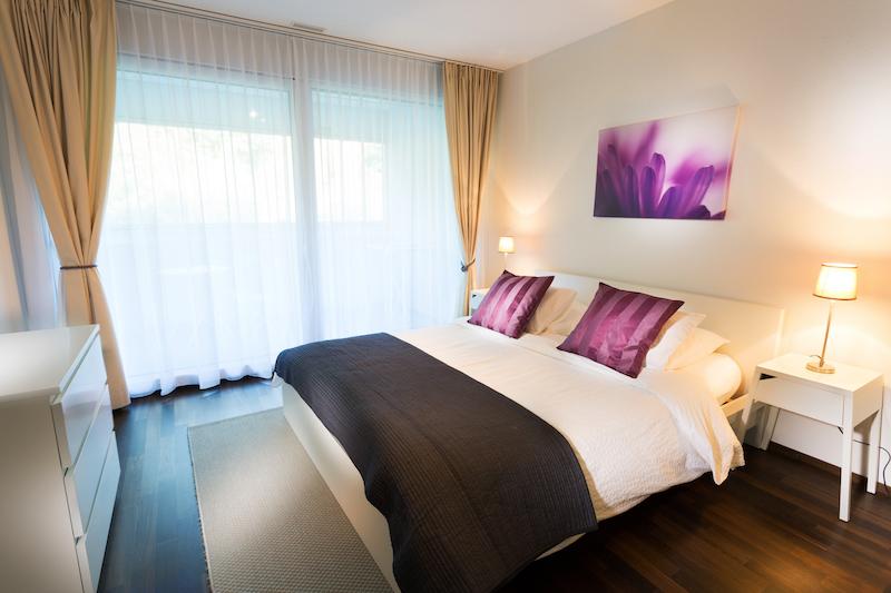 Bedroom at Paderewski 26 Apartments