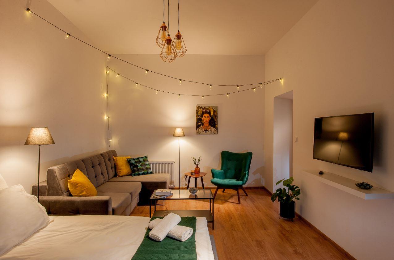 Living room at Agnieszki 1 Apartment