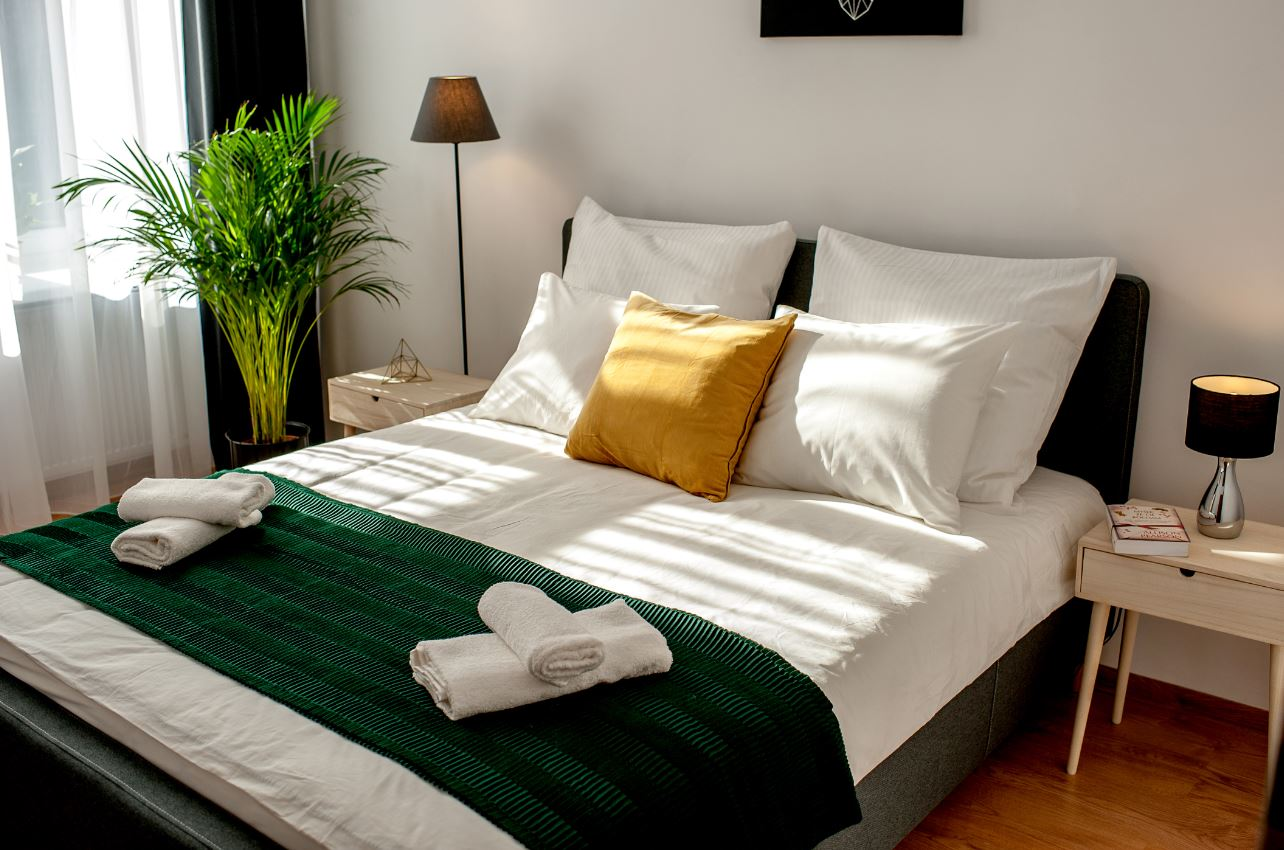 Bedroom at Agnieszki 1 Apartment
