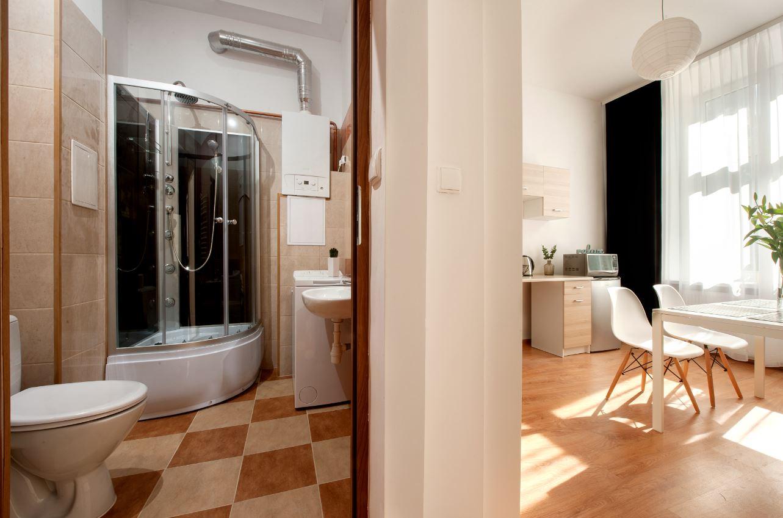 Bathroom at Agnieszki 1 Apartment