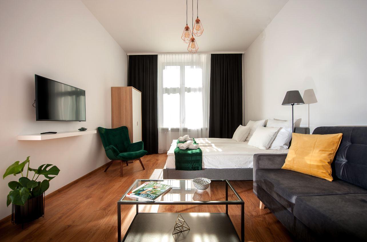 Stylish living area at Agnieszki 1 Apartment
