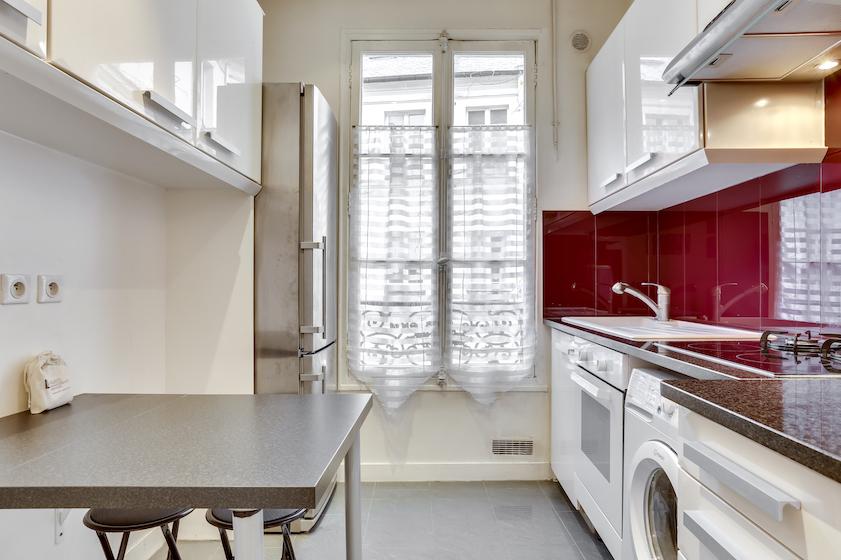 Kitchen at Rue du Petit Musc Apartment