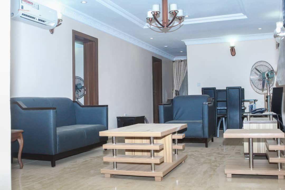 Lounge at SSCFG Apartments and Suites