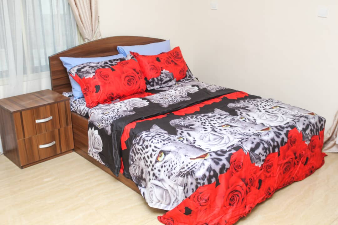Double bed at SSCFG Apartments and Suites