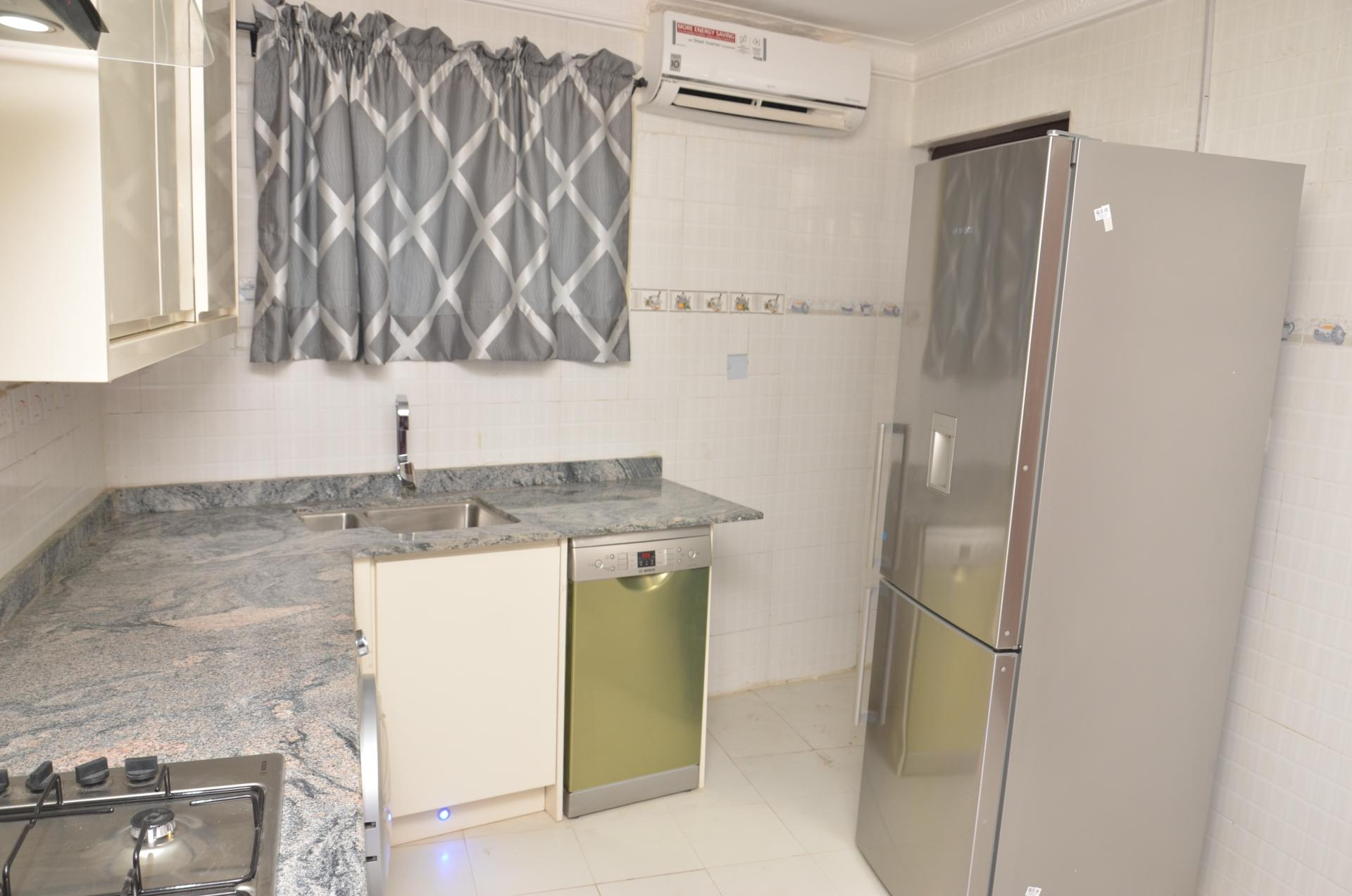 Kitchen facilities at SSCFG Apartments and Suites