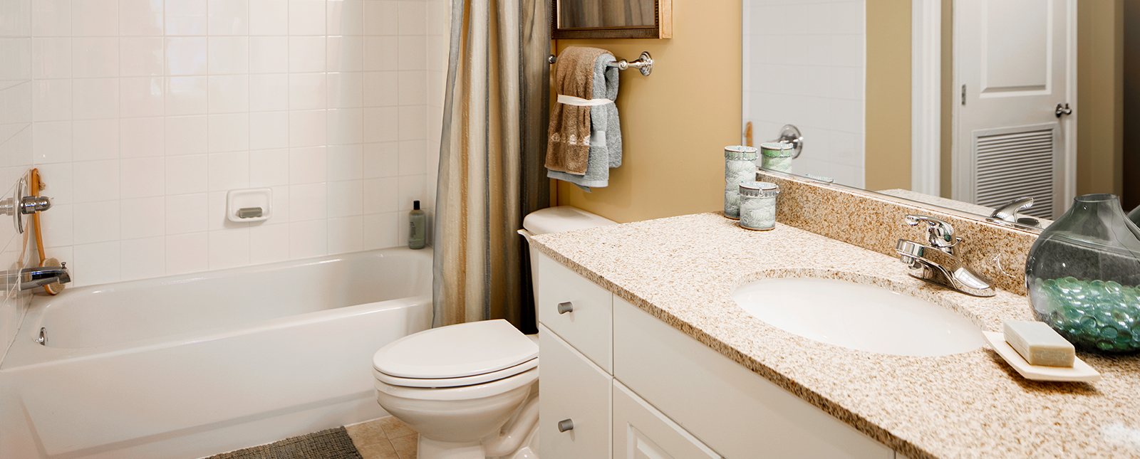 Bathroom at Spinnaker Bay Serviced Apartments