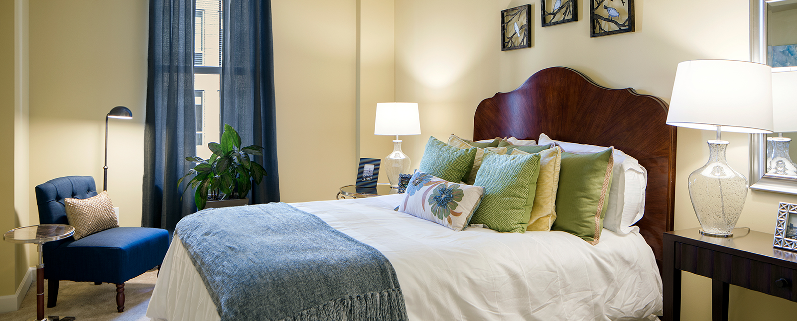 Comfortable bed at Spinnaker Bay Serviced Apartments
