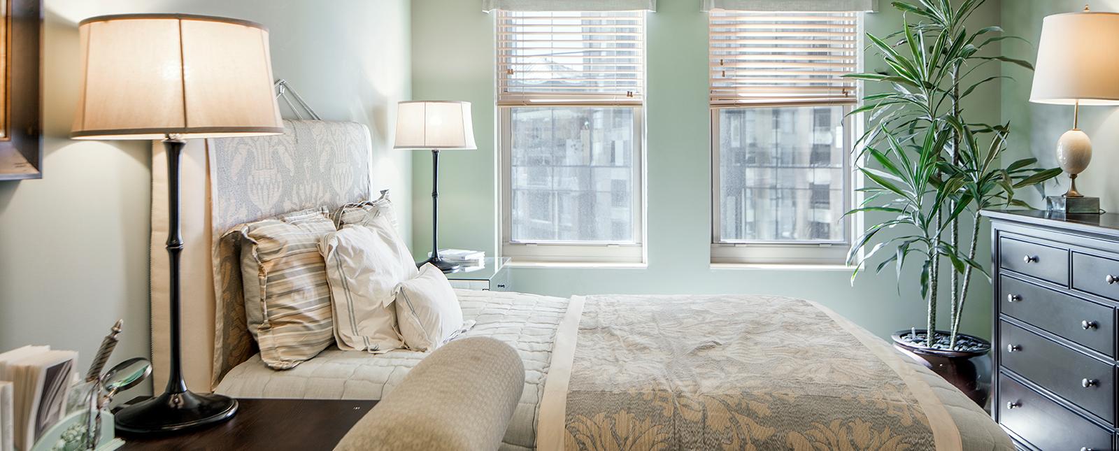 Bedroom at Spinnaker Bay Serviced Apartments