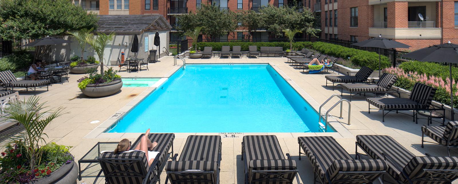 Pool at Spinnaker Bay Serviced Apartments