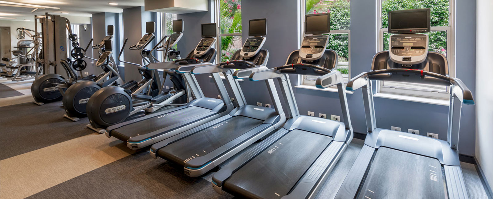 Gym at Spinnaker Bay Serviced Apartments