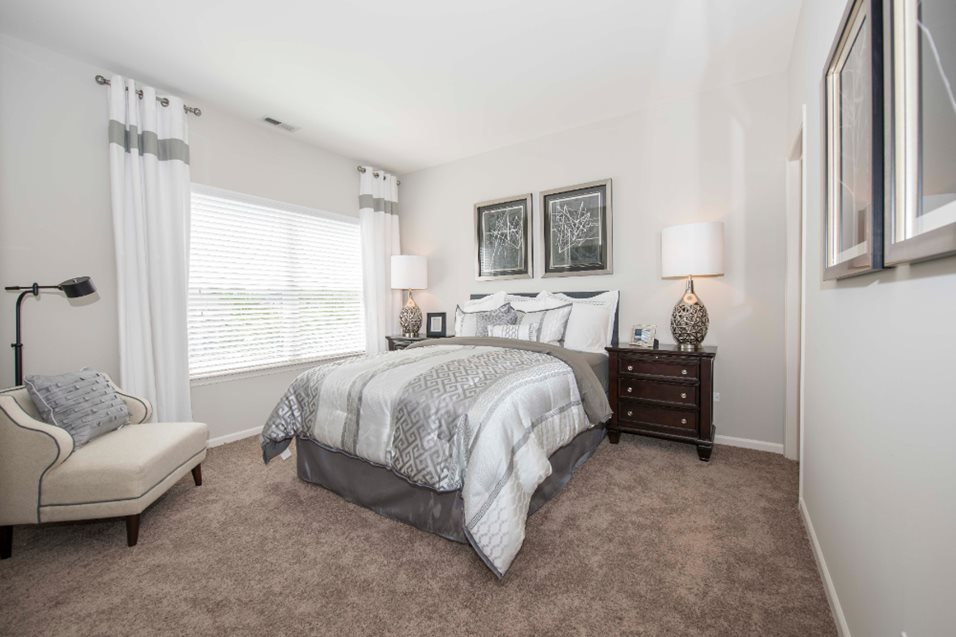 Bedroom at Grand Reserve of Naperville Apartment