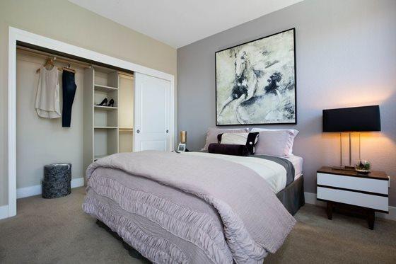 Bedroom at Bridgepointe Apartments San Mateo