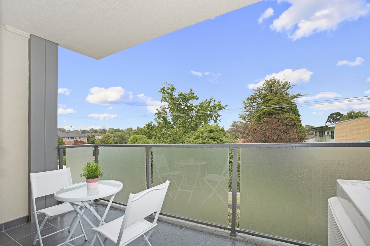 Balcony at Glen Waverley Apartments