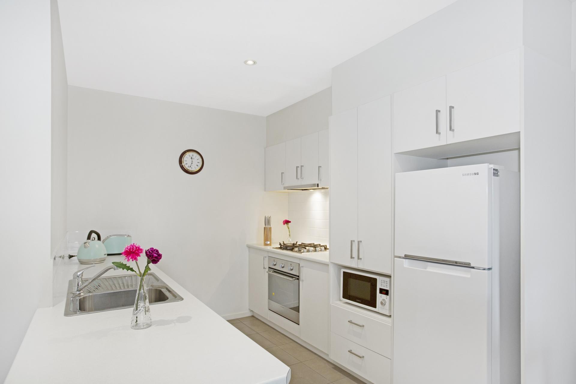 Kitchen at Glen Waverley Apartments