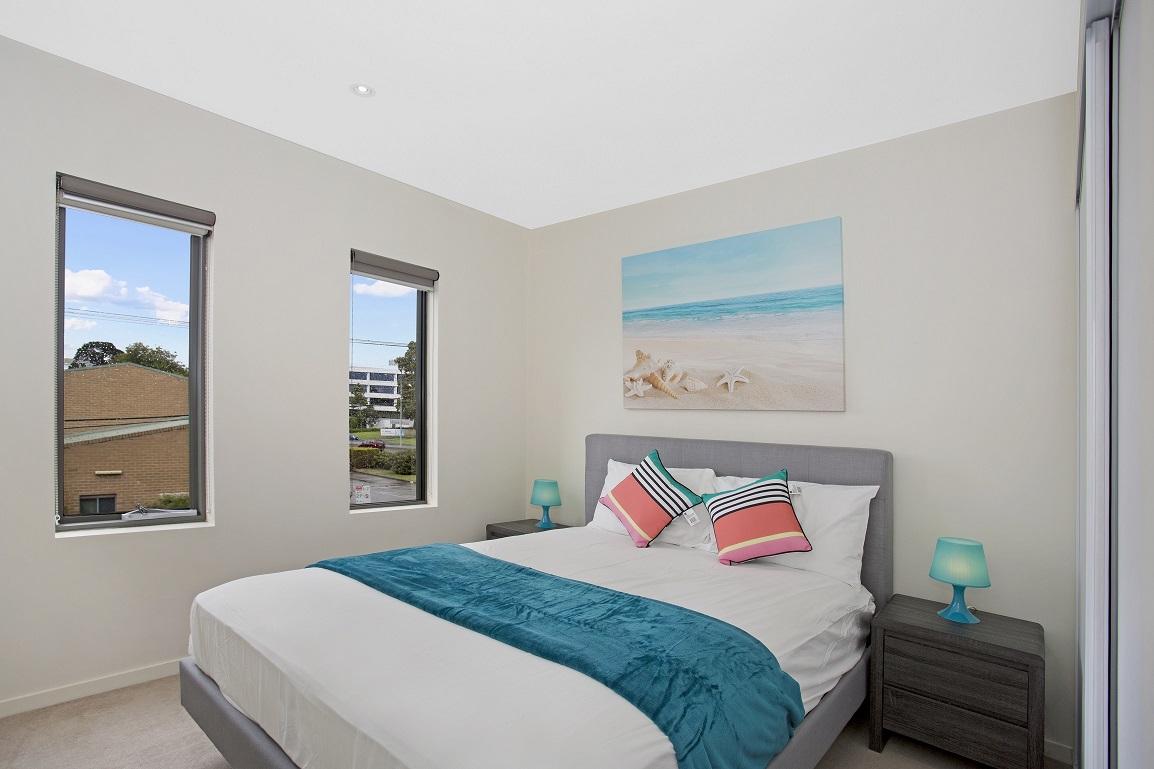 Bedroom at Glen Waverley Apartments