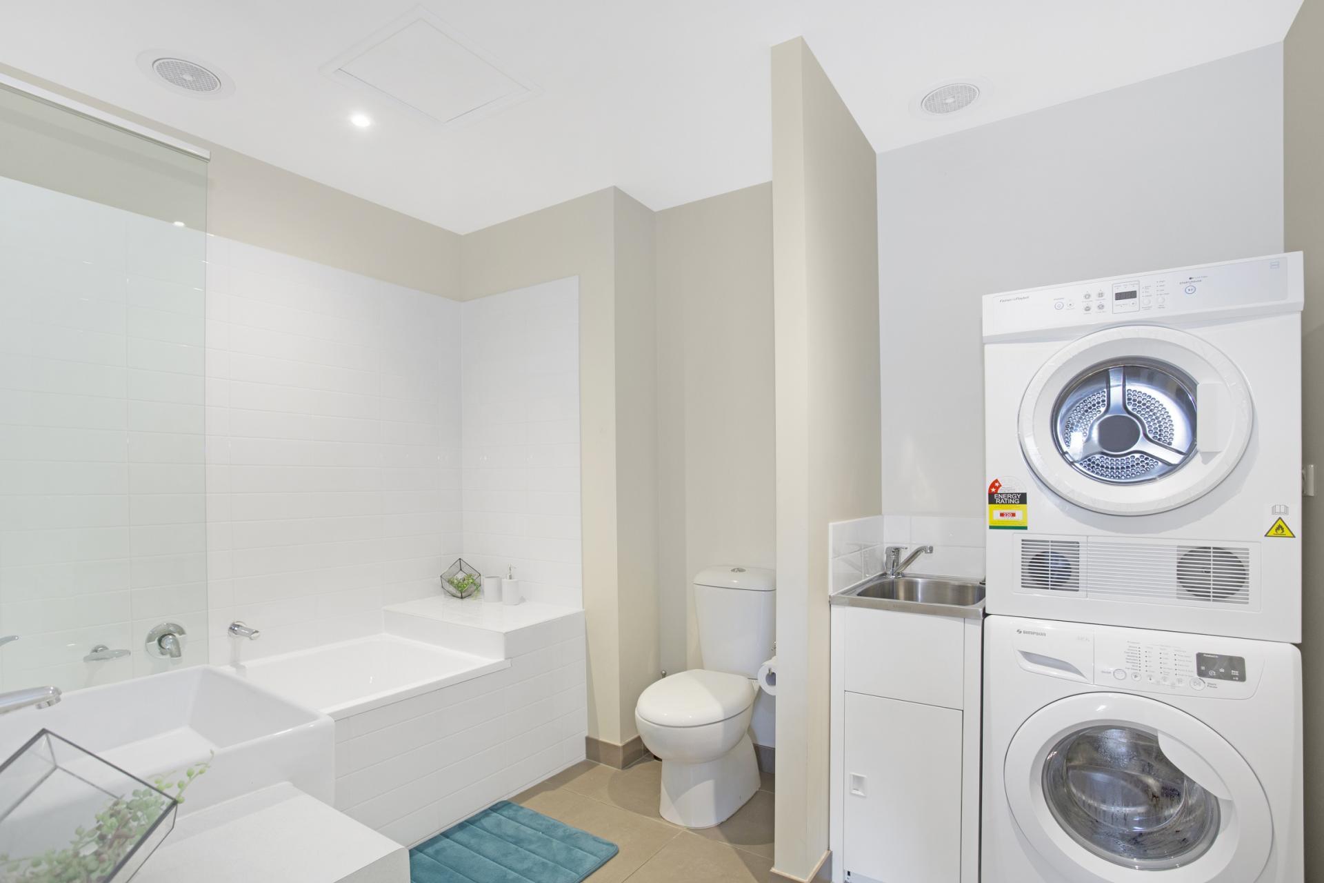 Bathroom at Glen Waverley Apartments