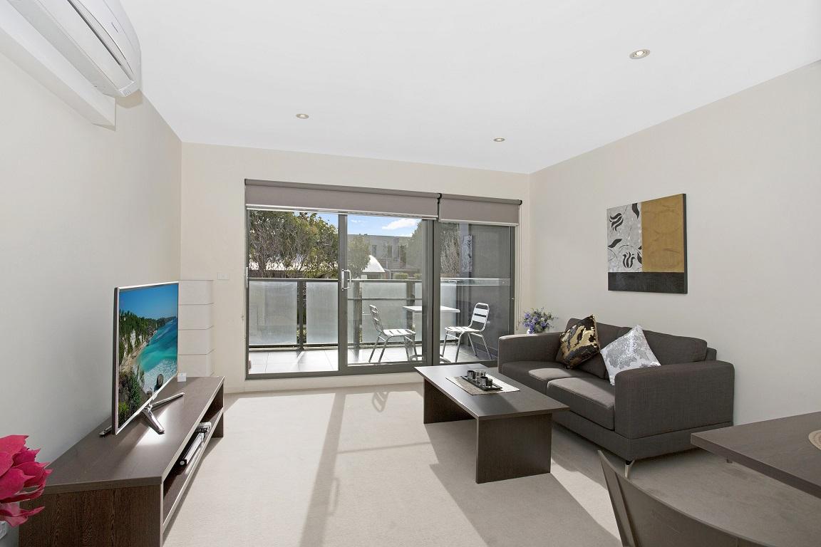 Sofa at Glen Waverley Apartments
