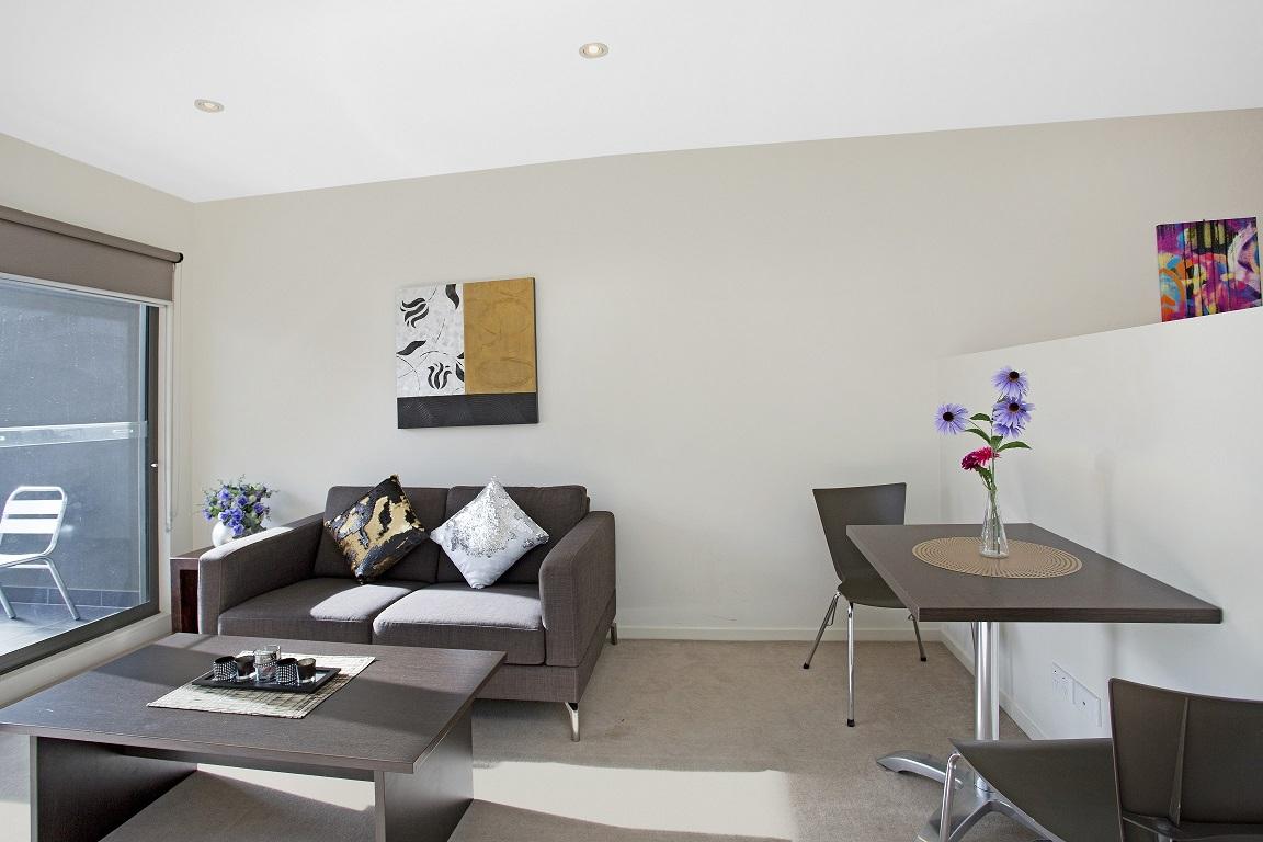 Dining area at Glen Waverley Apartments