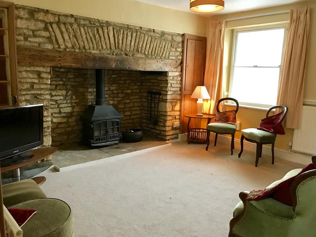 Living room at Wood Farm House