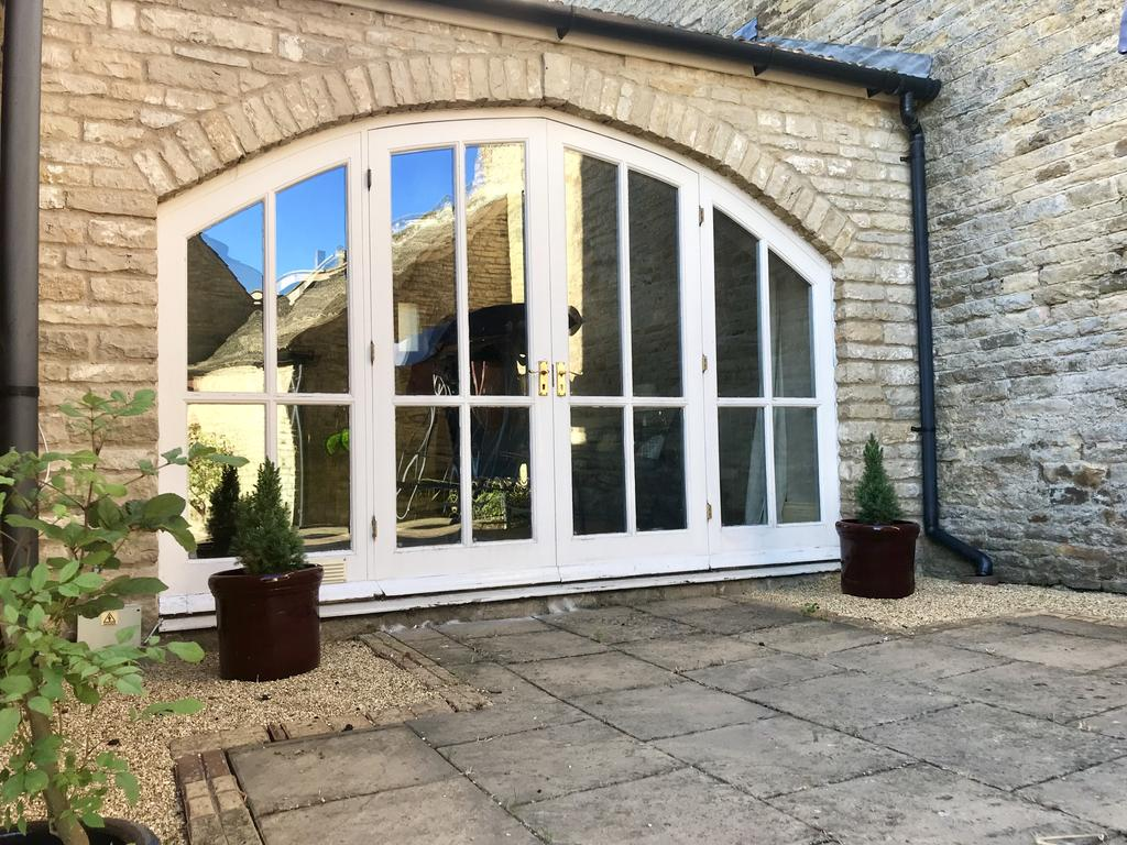 Arched window at Wood Farm House
