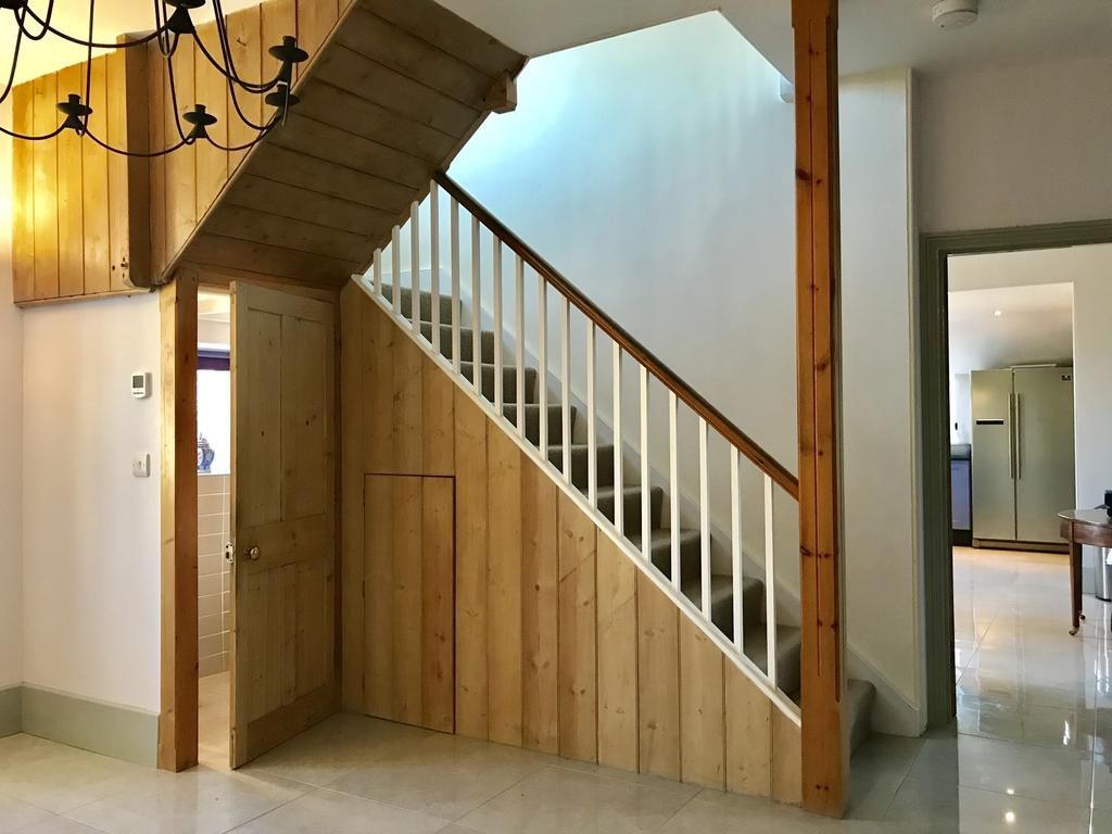 Stairway at Wood Farm House