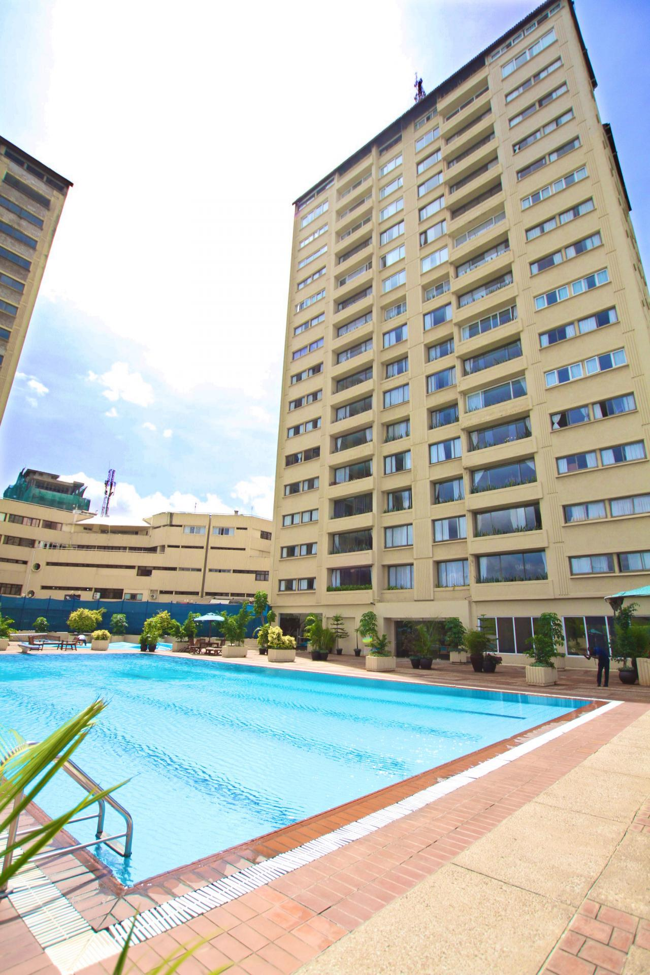 Pool at Yaya Apartments
